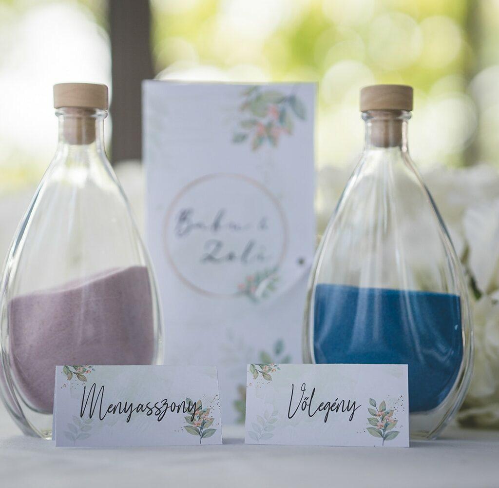 Esküvői grafika - ültetési kártya
